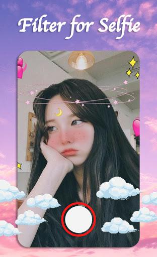 Filter for Selfie - Sweet Snap Face Camera  Screenshots 2