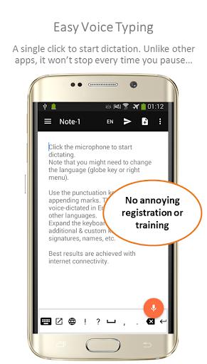 Speechnotes - Speech To Text Notepad 1.77 Screenshots 1