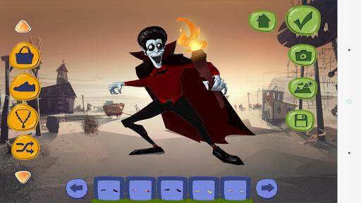 halloween dress up games screenshot 1