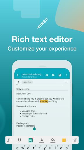 Email Aqua Mail - Exchange, SMIME, Smart inbox  Screenshots 5