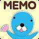 待受にメモ帳「ぼのぼの」かわいいメモ帳ウィジェット - Androidアプリ
