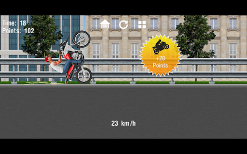 Moto Wheelie Screenshot