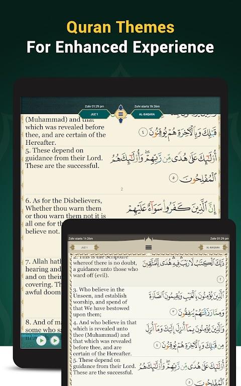 Quran Majeed – القران الكريم: Prayer Times & Athan  poster 15