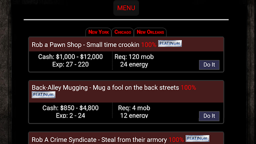 Mobster Players Revenge 28.8.8.11 screenshots 3