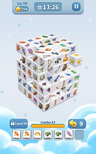 Cube Master 3D - Match 3 & Puzzle Game Apkfinish screenshots 14