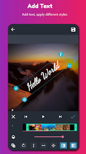AndroVid - Video Editor, Video Maker, Photo Editor Screenshot