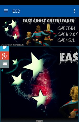 east coast cheerleader screenshot 1