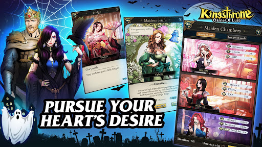 King's Throne: Game of Lust screenshots 3