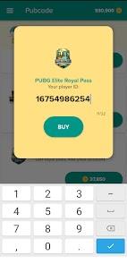 Pubcode – Free UC & Free Royale Pass 4