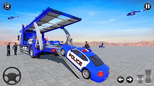 Grand Police Vehicles Transport Truck  Screenshots 8