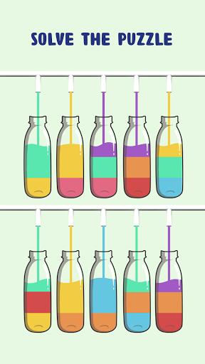 Water Sort Puzzle - Color Sorting Game APK MOD screenshots 2