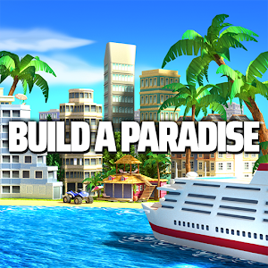 Tropic Paradise Sim: Town Building Game
