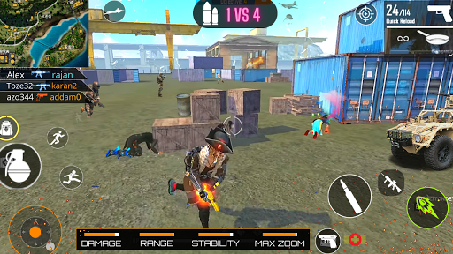 Survival Shooter Free Fire Clash Squad Team Game