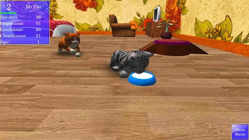 Cute Pocket Cat 3D 1.2.2.3 screenshots 2