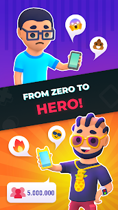 Idle Tiktoker: Get Followers and Become Celebrity Mod Apk 1.1.13 (Free Shopping) 4