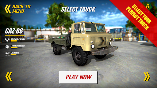 Back to USSR Truck Driver apktreat screenshots 2
