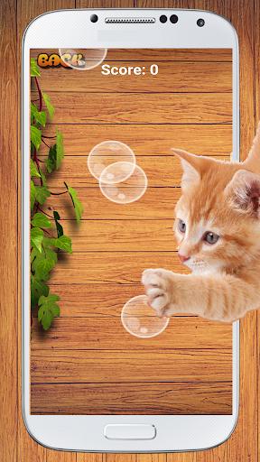 cat game - bubble pop screenshot 3
