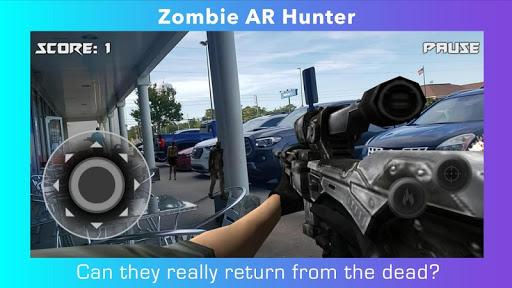 Code Triche Zombie AR Hunter APK MOD (Astuce) screenshots 1