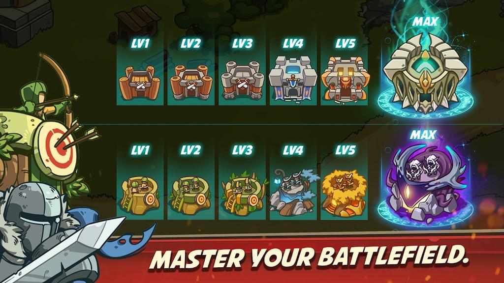 Empire Warriors Premium: Tower Defense Games poster 3