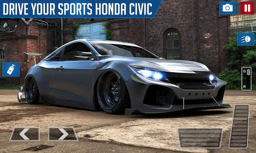 Drifting and Driving Simulator: Honda Civic Game 2 2.0 screenshots 4