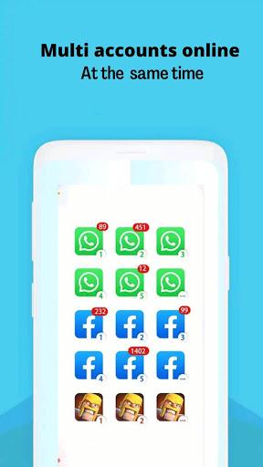 multiple account cloner app screenshots 1