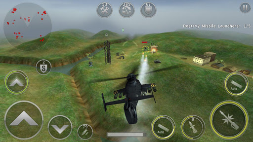 GUNSHIP BATTLE: Helicopter 3D  screen 1