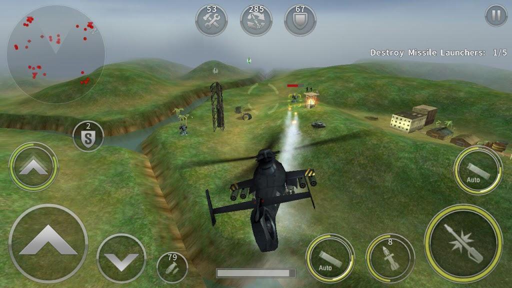 GUNSHIP BATTLE: Helicopter 3D  poster 1