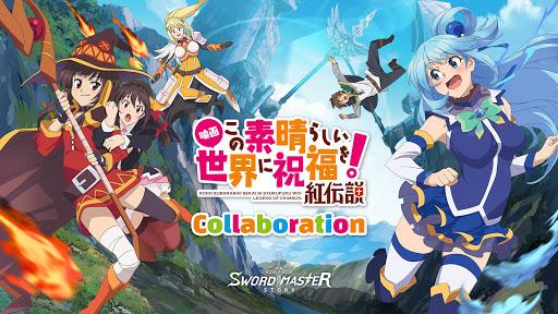 Sword Master Story - Konosuba Collab screenshots 1