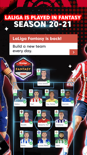 La Liga Official App - Live Soccer Scores & Stats 7.4.8 Screenshots 2