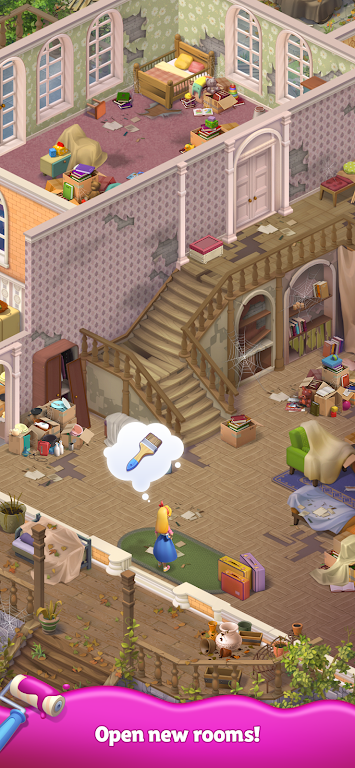 Merge Matters: Home renovation game with a twist poster 1