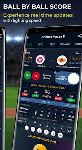 Cricket Mazza 11 Live Line & Fastest IPL Score Mod 2.08 Apk [Unlocked] 5
