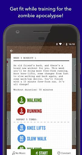 Zombies, Run! 5k Training (Free) screenshot 1