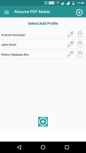 Resume PDF Maker / CV Builder 1.20 Screenshots 3