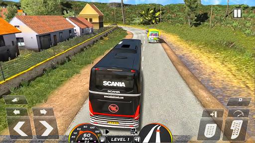 Real Bus Simulator Driving Games New Free 2021 2.1 screenshots 5
