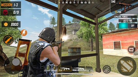 Shooting Survival Squad MOD (Unlimited Money/Guns) 4