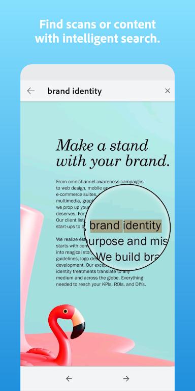 Adobe Scan: PDF Scanner with OCR, PDF Creator  poster 3