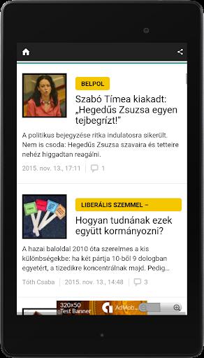 Hungary Newspapers App | Hungary News App 7.5 screenshots 8