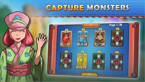 Monster Battles: TCG - Card Duel Game. Free CCG 2.3.7 Screenshots 2