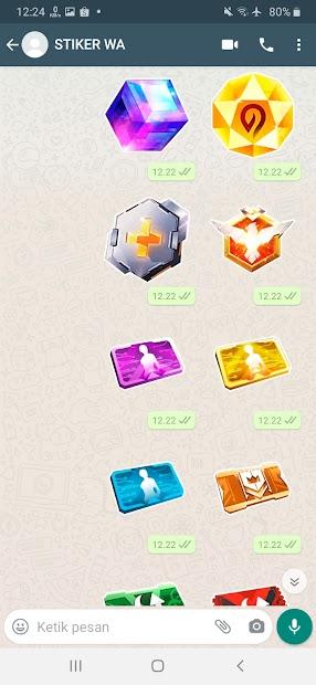 Captura 3 de Sticker WA Free Fire FF Emote 2021 WAStickerApps para android