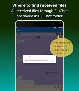 BluChat - Bluetooth Chat - Transfer - QR, Bar Code