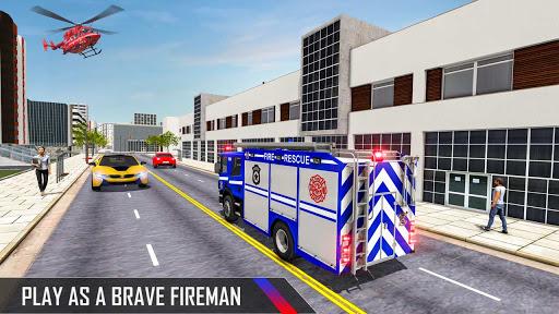 Police Ambulance Fire Truck Simulator 2021  screenshots 2