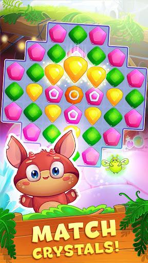 Crystal Crunch: New Match 3 Puzzle | Swap Gems 1.7.1 screenshots 1