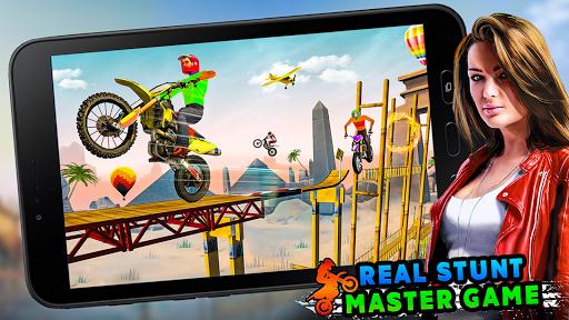 Stunt Bike 3D Race - Tricky Bike Master apklade screenshots 1