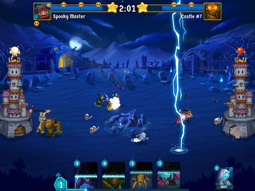 Spooky Wars - Battle Castle Defense Strategy Game SW-00.00.58 Screenshots 9