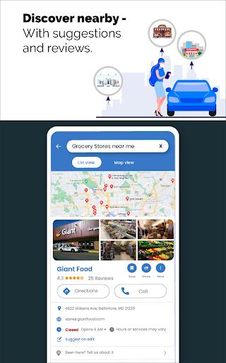 GPS Live Navigation, Maps, Directions and Explore  Screenshots 15