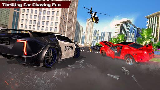 Télécharger Gratuit Police Car Chase: Gangster Crime Simulator 2020 mod apk screenshots 1