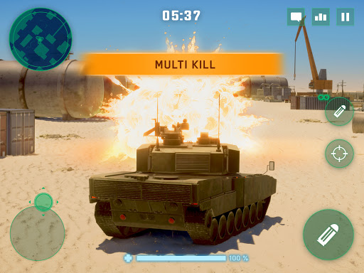 War Machines: Tank Battle - Army & Military Games  screenshots 11