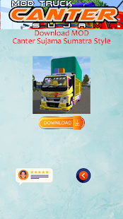 Image For Mod Truck Canter Sujama Versi 1.0 3