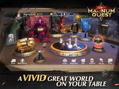 Magnum Quest Mod Apk 1.9.0.145269 (Unlimited Skill) 4