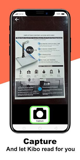Screenshot 5 de Kibo: Accessibility for all (Blind & Low-vision) para android